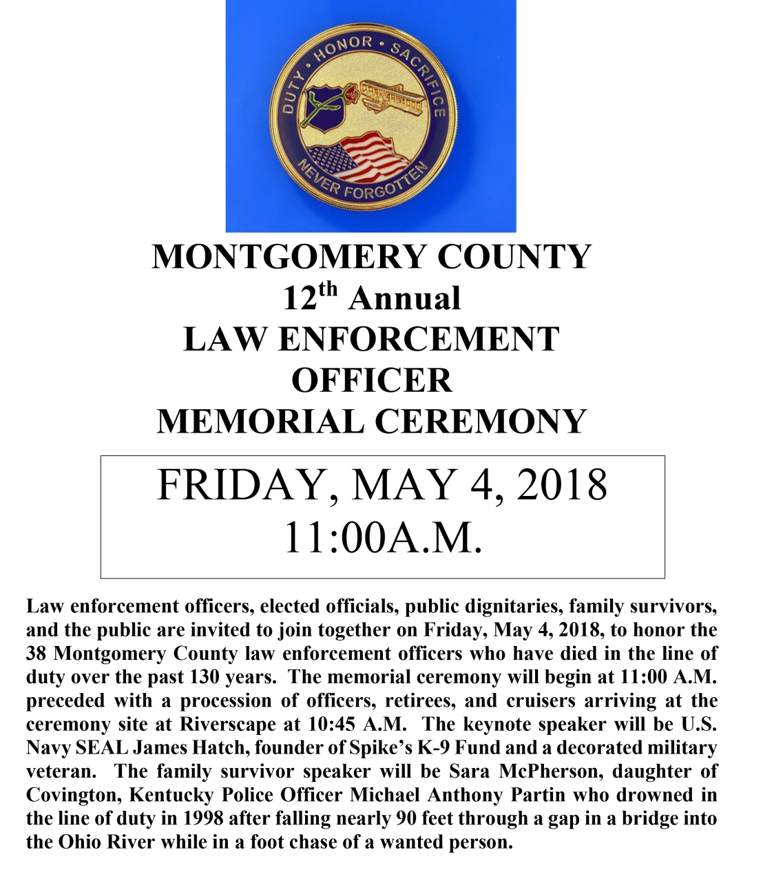 2018 MC Law Enforcement Ceremony Public Flyer v1 (2)-1